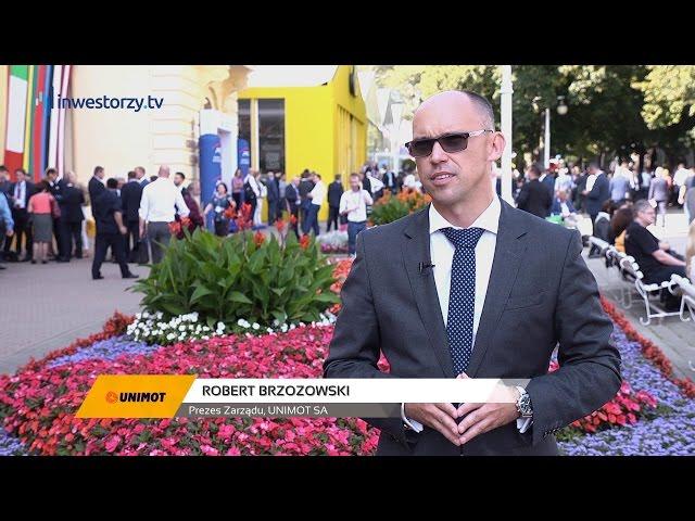 UNIMOT SA, Robert Brzozowski - Prezes Zarządu, #64 PREZENTACJE WYNIKÓW