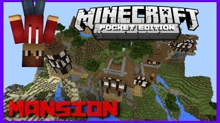 getlinkyoutube.com-Mapa Mansión Ultra Enorme Minecraft Pocket edition 0.11.X