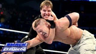 getlinkyoutube.com-Cena & CM Punk vs. The Shield - 2-on-3 Handicap Match: SmackDown, Dec. 20, 2013