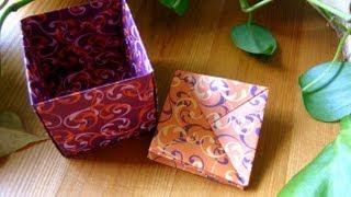 getlinkyoutube.com-Origami ❀ Coin Purse ❀ Portemonnaie