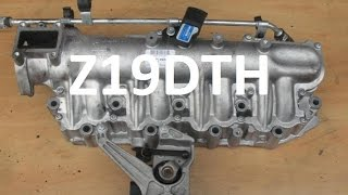 getlinkyoutube.com-How to replace intake inlet manifold 1.9 cdti JTDm z19dth Vectra Zafira Astra Alfa swirl flaps p1109