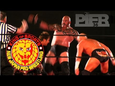 New Japan Pro Wrestling  @ Pier 36 NYC - 2011