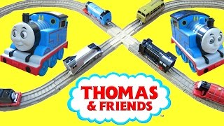 getlinkyoutube.com-THOMAS AND FRIENDS SURPRISE TOYS TRACKMASTER TALKING TRAIN TAKE N PLAY ACCIDENTS HAPPEN CRASH!