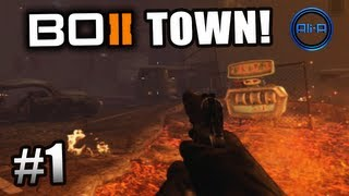 """getlinkyoutube.com-Black Ops 2 ZOMBIES GAMEPLAY - """"TOWN"""" Survival Live w/ Ali-A - Part 1 - Call of Duty BO2"""