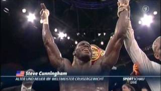 "getlinkyoutube.com-Steve ""USS"" Cunningham vs Marco Huck  Round 12"