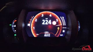 getlinkyoutube.com-2016 Renault Talisman 1.6 TCe - 0-224km/h Acceleration Test