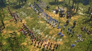 getlinkyoutube.com-Age of Empires III - Multiplayer Gameplay #01 [Deutsch/HD] 1vs1vs1