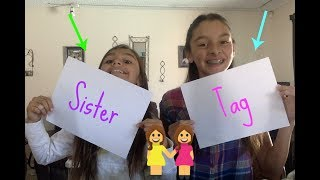 Sister Tag l Jacy and Julie