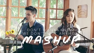 Don't Wanna Know/We Don't Talk Anymore MASHUP - Sam Tsui & Alex G