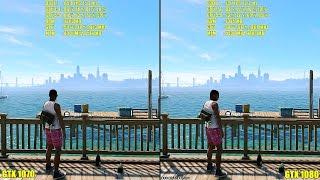 getlinkyoutube.com-Watch Dogs 2 Pc GTX 1080 Vs GTX 1070 1440p Frame Rate Comparison