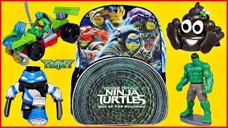 getlinkyoutube.com-TMNT SURPRISE BACKPACK Teenage Mutant Ninja Turtles Blind Boxes and Blind Bags Mega Bloks