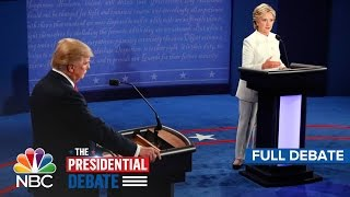getlinkyoutube.com-The Third Presidential Debate: Hillary Clinton And Donald Trump (Full Debate) | NBC News