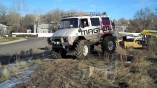 getlinkyoutube.com-Custom Unimog for Magpul Industries