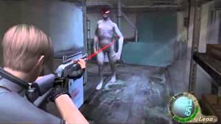 getlinkyoutube.com-Leon vs Regeneradores Resident evil 4