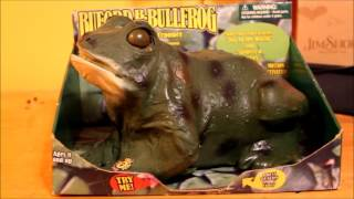 getlinkyoutube.com-Gemmy - Buford B. Bullfrog: The Croaking Crooner