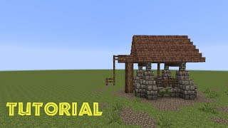 Minecraft Tutorial - einen Brunnen bauen - build a well