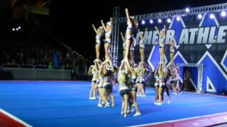 getlinkyoutube.com-Blue Debut 15: Cheer Athletics Panthers