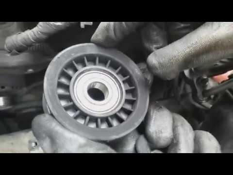 Замена приводного ремня Opel Vectra C 3.2 (Z32SE).
