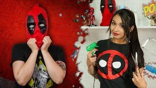 getlinkyoutube.com-Crea Tu Propia Máscara De Deadpool