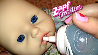 getlinkyoutube.com-Zapf Creations Baby Annabell Doll New Outfit for Valentine's Day