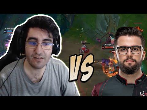 MrChuck12 vs Maxlor | League of Legends (ITA)