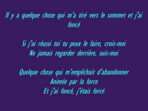 Vitaa - Déterminée (PAROLES)