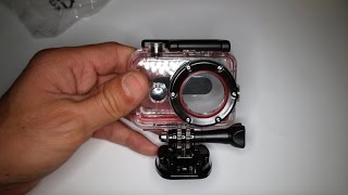 getlinkyoutube.com-Xiaomi YI Action Camera 60m waterproof case
