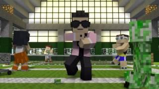 getlinkyoutube.com-Oppa Gangnam Style Minecraft
