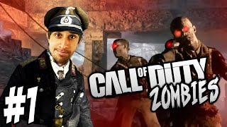 getlinkyoutube.com-CoD WaW ZOMBIES - Nacht Der Untoten #1 with Vikkstar