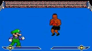 getlinkyoutube.com-Mama Luigi vs Mike Tyson MUGEN Battle!!!