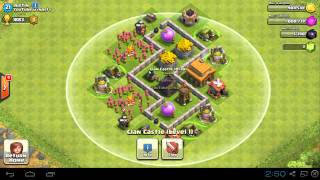 getlinkyoutube.com-Clash of Clans -  TH3 Farming Base Compilation, Maxed Out