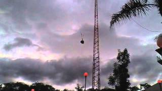 getlinkyoutube.com-X-Flight (SkyCoaster) Nueva Atracción de Six Flags México