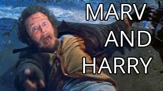 getlinkyoutube.com-Home Alone with Harry and Marv - Part 2