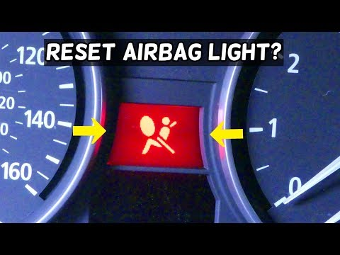 CAN I RESET AIRBAG LIGHT WITHOUT FIXING THE FAULT BMW