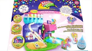 getlinkyoutube.com-Unboxing Beados Super Magical Studio Playset Creates Models Of Animals And Princesses