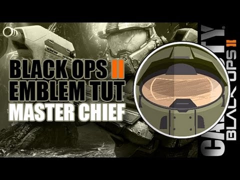Black Ops 2 Emblem Tutorials - Master Chief - Halo 4
