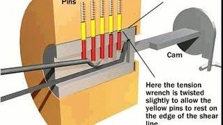 Download video come costruire grimaldello e tensore - Scassinare una porta ...