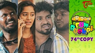 getlinkyoutube.com-Fun Bucket | 74th Copy | Funny Videos | by Harsha Annavarapu | #TeluguComedyWebSeries