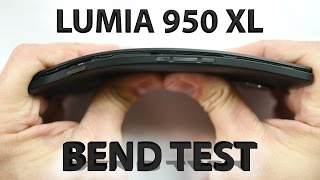 Lumia 950 XL Bend test - Liquidless Cooling - Scratch Test