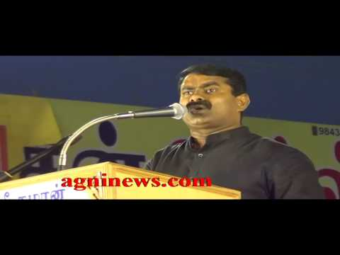 DINDIGUL ... SEEMAN ASKS VOTERS NOT TO VOTE FOR CONGRESS OR BJP