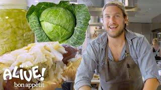 Brad Makes Sauerkraut   It's Alive   Bon Appétit width=