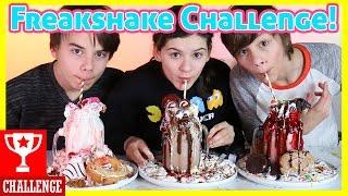getlinkyoutube.com-FREAKSHAKE CHALLENGE!     KITTIESMAMA