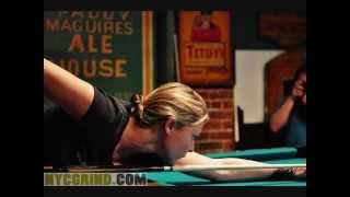 getlinkyoutube.com-Hot Girl pool players fan video