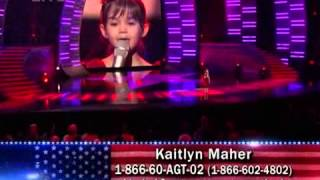 getlinkyoutube.com-Kaitlyn Maher - I'll Be There (Mariah Carey) - America's Got Talent # 3