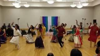 getlinkyoutube.com-Wedding Dance - Garba Night   2016