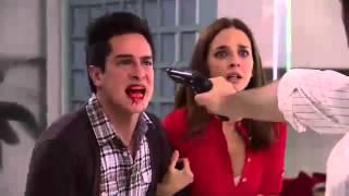 getlinkyoutube.com-Rosa diamante - Gerardo golpea a Martin
