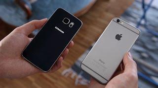 getlinkyoutube.com-Samsung Galaxy S6 vs. Apple iPhone 6 (Deutsch) | SwagTab