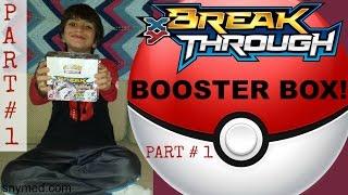 getlinkyoutube.com-Pokemon XY BREAKthrough Booster Box Opening Video PART 1 of 2! GREAT PULLS! Jenna Em Channel