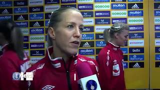 Norway 34:17 Russia (Quarter Finals) | IHFtv highlights & interviews - Germany 2017