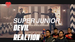 getlinkyoutube.com-[4LadsReact] Super Junior (슈퍼주니어) - DEVIL MV Reaction